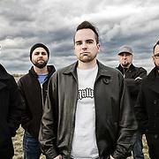 Portrait of rock band Radio Recon