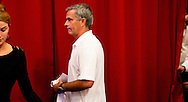 Press conference of Real Madrid coach Jose Mourinho in the Amsterdam Arena in Amsterdam Oktober 2, 2012.