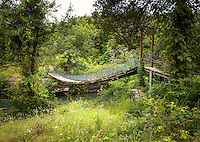 Dogpatch USA abandoned theme park near Harrison Arkansas.