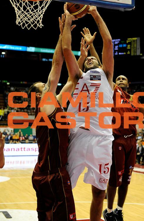 DESCRIZIONE : Milano Lega A 2011-12 EA7 Olimpia Milano Vs Umana Reyer Venezia<br /> GIOCATORE : Bourousis Ioannis<br /> CATEGORIA : Tiro<br /> SQUADRA : EA7 Olimpia Milano <br /> EVENTO : Campionato Lega A 2011-2012 <br /> GARA : EA7 Olimpia Milano Vs Umana Reyer Venezia <br /> DATA : 01/05/2012<br /> SPORT : Pallacanestro <br /> AUTORE : Agenzia Ciamillo-Castoria/A.Giberti<br /> Galleria : Lega Basket A 2011-2012 <br /> Fotonotizia : Milano Lega A 2011-12 EA7 Olimpia Milano Vs Umana Reyer Venezia <br /> Predefinita :