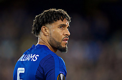 LIVERPOOL, ENGLAND - Thursday, September 28, 2017: Everton's Ashley Williams before the UEFA Europa League Play-Off 1st Leg match between Everton and Apollon Limassol FC at Goodison Park. (Pic by David Rawcliffe/Propaganda)
