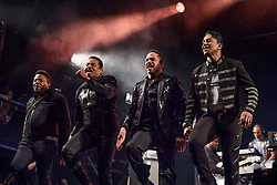 The Jacksons performing during the Glastonbury Festival at Worthy Farm in Pilton, Somerset. Picture date: Saturday June 24th 2017. Photo credit should read: Matt Crossick/ EMPICS Entertainment.