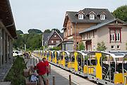 Solar-Draisinen-Bahnhof Wald-Michelbach, Odenwald, Hessen, Deutschland | Solar Handcars Station Wald-Michelbach, Odenwald, Hesse, Germany