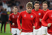 Luke Shaw of Manchester United during the Champions League Group B match between PSV Eindhoven and Manchester United at Philips Stadion, Eindhoven, Netherlands on 15 September 2015. Photo by Phil Duncan.