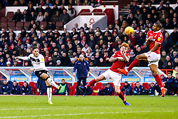 Josh Brownhill of Bristol City shoots at goal - Mandatory by-line: Robbie Stephenson/JMP - 19/01/2019 - FOOTBALL - The City Ground - Nottingham, England - Nottingham Forest v Bristol City - Sky Bet Championship