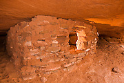 Anasazi granaries on Aztec Butte, Island in the Sky, Canyonlands National Park, Utah