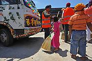 Lavinio (Roma), 06/06/2010: celebrazioni della festività del Guru Gobind Sing della comunità indiana di religione Sikh dell'Agro Pontino.- religious celebration of the Indian Sikh community