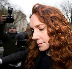 © London News Pictures. 29/11/2012. London, UK. Former Chief Executive Officer of News International REBEKAH BROOKS leaving Westminster Magistrates Court in London after facing charges linked to investigation into alleged corrupt payments to public officials by journalists on November 29, 2012. The court hearing takes place on the same day that  Lord Justice Leveson is set to publish his report  into the culture and ethics of the UK's press. Photo credit: Ben Cawthra/LNP