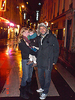 Christine and Dante and Rahav in the Latin Quarter