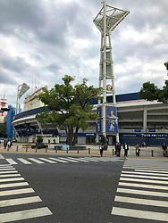 17-10-2018 JPN: World Championship Volleyball Women day 18, Yokohama<br /> Travel day from Nagoya to Yokohama for the semi finals and around Yokohama day and night life - The YOKOHAMA DeNA BAYSTARS are a professional baseball team affiliated with the Nippon Professional Baseball Organization (NPB)