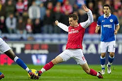 03.12.2011, DW Stadium, Wigan, ENG, Premier League, Wigan Athletic vs FC Arsenal, 14. Spieltag, im Bild Arsenal's Aaron Ramsey // during the football match of english Premier League, 14th round between Wigan Athletic an FC Arsenal at DW Stadium, Wigan, ENG on 2011/12/03. EXPA Pictures © 2011, PhotoCredit: EXPA/ Sportida/ David Rawcliff..***** ATTENTION - OUT OF ENG, GBR, UK *****