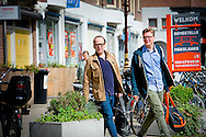 AMSTERDAM - Marc-Marie Huijbregts en  vriend . copyright robin utrecht