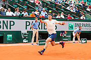 Thomas Berdych (cze) during the Roland Garros French Tennis Open 2018, day 4, on May 30, 2018, at the Roland Garros Stadium in Paris, France - Photo Pierre Charlier / ProSportsImages / DPPI