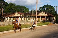 Street in Bolivia, Ciego de Avila Province, Cuba.