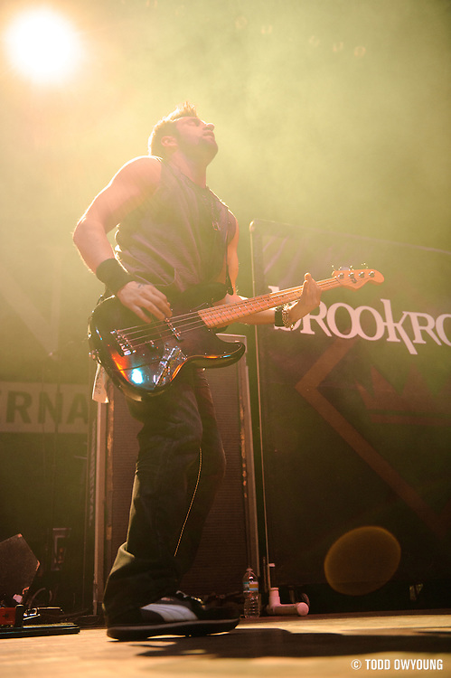 Photos of the band Brookroyal performing at the Pageant in St. Louis on December 14, 2010.