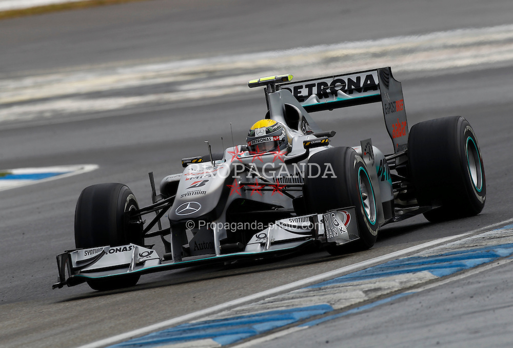 Motorsports / Formula 1: World Championship 2010, GP of Germany, 04 Nico Rosberg (GER, Mercedes GP Petronas),