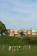 Baltimore, Maryland - May 14, 2015: The Paterson Park area of Baltimore might benefit from the new Community Solar legislation.<br /> <br /> CREDIT: Matt Roth for Earthjustice