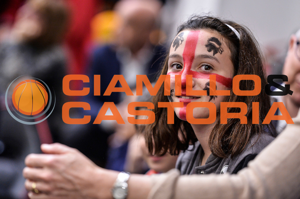 Tifosa Dinamo Sassari<br /> Banco di Sardegna Dinamo Sassari - Le Mans Sarthe<br /> FIBA Basketball Champions League 2016/2017<br /> Ottavi di Finale<br /> Sassari 01/03/2017<br /> Foto Ciamillo-Castoria