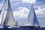 Destination Fox Harb'r and Windrose racing in the St. Barth's Bucket Regatta.