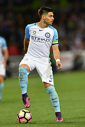 December 17, 2016 - Melbourne, Victoria, Australia - BRUNO FORNAROLI (23) of Melbourne City controls the ball in the round 11 match of the A-League between Melbourne City and Melbourne Victory at AAMI Park, Melbourne, Australia. Victory won 2-1 (Credit Image: © Sydney Low via ZUMA Wire)