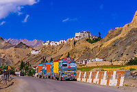 NH 1, Srinagar Leh Highway near Lamayuru, Ladakh; Jammu and Kashmir State, India.