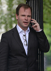 © Licensed to London News Pictures. 12/06/2012. Westminster, UK Craig Oliver, Head of Communications for British Prime Minister David Cameron. Politicians on Downing Street today 12 June 2012. Photo credit : Stephen Simpson/LNP