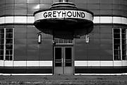 Former Greyhound bus station in Blytheville, Arkansas ©David Zalaznik