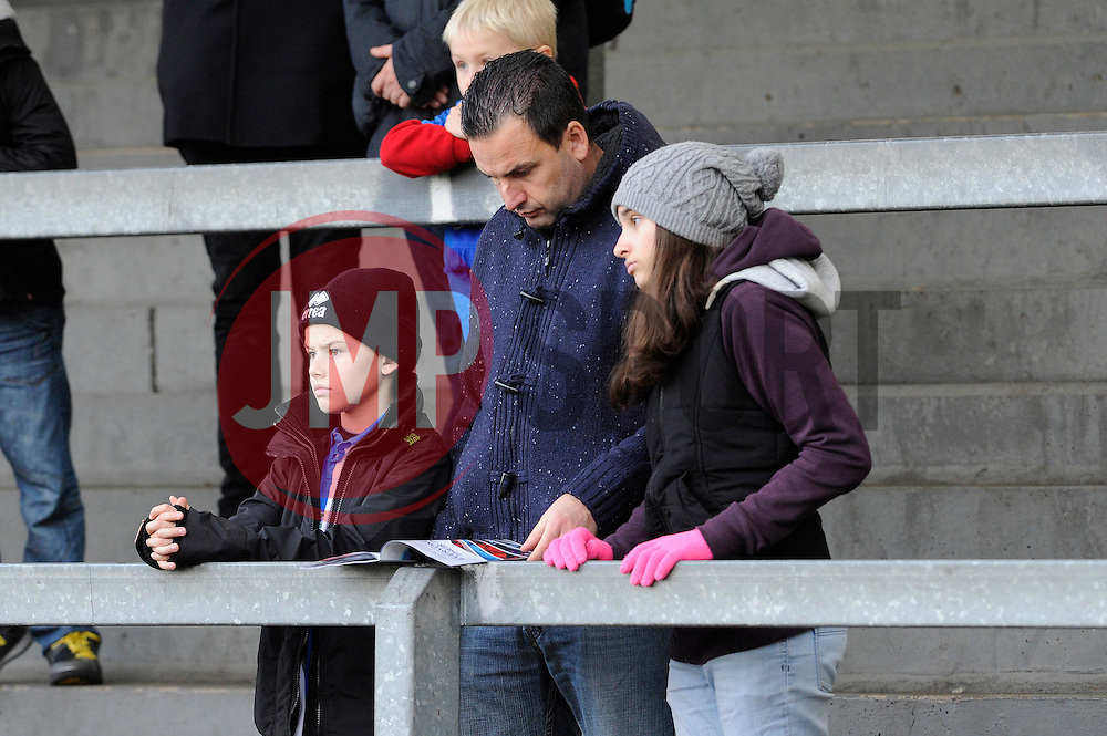 Kid a Quid promotion - Photo mandatory by-line: Dougie Allward/JMP - Tel: Mobile: 07966 386802 07/12/2013 - SPORT - Football - Bristol - Memorial Stadium - Bristol Rovers v Crawley Town - FA Cup - Second Round