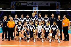 08-07-2010 VOLLEYBAL: WLV NEDERLAND - ZUID KOREA: EINDHOVEN<br /> Nederland verslaat Zuid Korea met 3-0 / Nederland teamfoto<br /> ©2010-WWW.FOTOHOOGENDOORN.NL