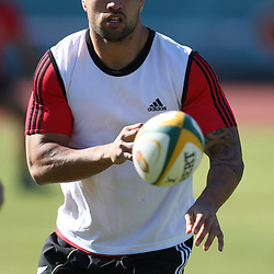 PORT ELIZABETH, SOUTH AFRICA - AUGUST 16, Liam Messam  during the New Zealand All Blacks training session at Xerox Arena on August 16, 2011 in Port Elizabeth, South Africa<br /> Photo by Steve Haag / Gallo Images