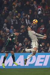 "Foto Filippo Rubin<br /> 10/02/2019 Reggio Emilia (Italia)<br /> Sport Calcio<br /> Sassuolo - Juventus - Campionato di calcio Serie A 2018/2019 - Stadio ""Mapei Stadium""<br /> Nella foto: CRISTIANO RONALDO (JUVENTUS)<br /> <br /> Photo Filippo Rubin<br /> February 10, 2019 Reggio Emilia (Italy)<br /> Sport Soccer<br /> Sassuolo vs Juventus - Italian Football Championship League A 2018/2019 - ""Mapei Stadium"" Stadium <br /> In the pic: CRISTIANO RONALDO (JUVENTUS)"