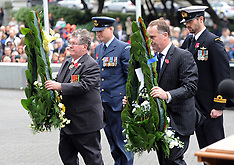 Wellington-ANZAC National Commemorative Service, Parliament, 2014