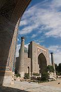 Mosque at the Registan, Samarkand Uzbekistan