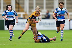 Nolli Waterman of Bristol Ladies in action - Rogan Thomson/JMP - 08/10/2016 - RUGBY UNION - Kingston Park - Newcastle, England - Darlington Mowden Park Sharks v Bristol Ladies Rugby - RFU Women's Premiership.