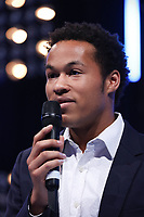 Sheku Kanneh-Mason accept his award during the O2 Silver Clef Awards 2019, Grosvenor House, London, UK, Friday 05 July 2019<br /> Photo JM Enternational
