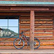 10th Mountain Hut Division - Ben Eiseman Hut The rugged peaks of Colorado's Gore Range backdrop the Eiseman Hut, 10th Mountain's most alpine hostel.