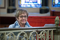 © Licensed to London News Pictures . 22/09/2019. Brighton, UK. MARGARET HODGE at a fringe event by the Jewish Labour Movement at middle Street Brighton Synagogue, during the second day of the 2019 Labour Party Conference from the Brighton Centre . Photo credit: Joel Goodman/LNP