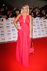 Billie Faiers  at the National Television Awards held in London on Wednesday, 25th January 2012. Photo by: i-Images