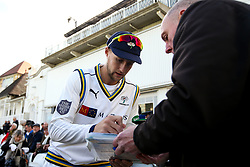 Joe Root of Yorkshire signs autographs - Mandatory by-line: Robbie Stephenson/JMP - 05/04/2019 - CRICKET - Trent Bridge - Nottingham, England - Nottinghamshire v Yorkshire - Specsavers County Championship Division One