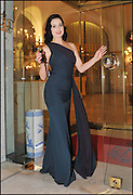 20.SEPTEMBER.2011. NICE<br /> <br /> BURLESQUE MODEL AND ACTRESS DITA VON TEESE LAUNCHES HER FIRST PERFUME FRAGRANCE 'DITA VON TEESE', BY THE LUXESS GROUP AT THE NEGRESCO HOTEL IN NICE, FRANCE<br /> <br /> **EXCLUSIVE PICTURES** <br /> <br /> <br /> BYLINE: EDBIMAGEARCHIVE.COM<br /> <br /> *THIS IMAGE IS STRICTLY FOR UK NEWSPAPERS AND MAGAZINES ONLY*<br /> *FOR WORLD WIDE SALES AND WEB USE PLEASE CONTACT EDBIMAGEARCHIVE - 0208 954 5968*