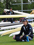 Eton, United Kingdom.  Karl HUDSPITH, relaxing before Sat. time trial.  2011 GBRowing Trials, Dorney Lake. Saturday  16/04/2011  [Mandatory Credit; Peter Spurrier/Intersport-images] Venue For 2012 Olympic Regatta and Flat Water Canoe events.