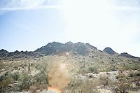 Mountains in the Arizona Sanoran desert USA&#xA;<br />