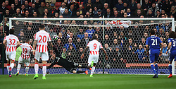 Jonathan Walters of Stoke City (2nd L) scores his sides first goal from the penalty spot - Mandatory by-line: Jack Phillips/JMP - 18/03/2017 - FOOTBALL - Bet365 Stadium - Stoke-on-Trent, England - Stoke City v Chelsea - Premier League