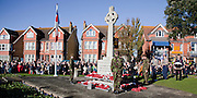 Ceremony of Remembrance at Seaford, East Sussex on 11 November 2012 Seaford War Memorial