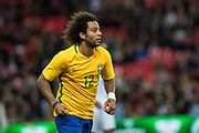Brazil (12) Marcelo during the International Friendly match between England and Brazil at Wembley Stadium, London, England on 14 November 2017. Photo by Sebastian Frej.
