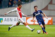 04-10-2015 VOETBAL: AJAX-PSV:AMSTERDAM<br /> Davy Propper van PSV (R) in duel met Nemanja Gudelj van Ajax <br /> <br /> <br /> Foto: Geert van Erven