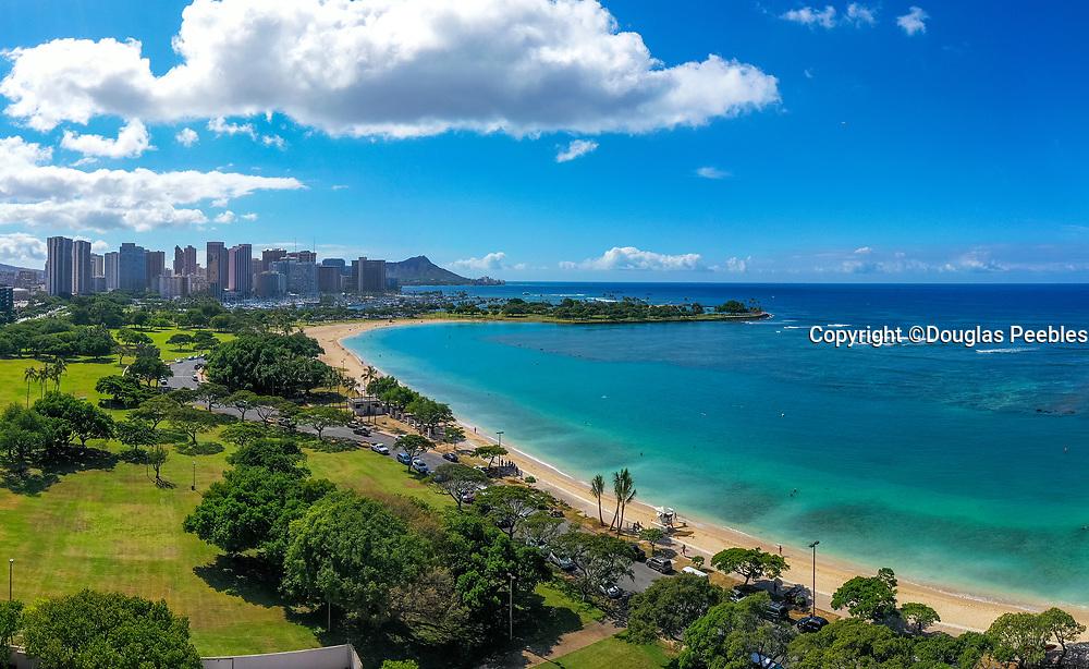 Ala Moana Beach Park, , Honolulu, Oahu, Hawaii