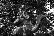 The Statues of London,England. October 2012<br /> Seen here: Memorial to the Camel Corps.<br /> The Imperial Camel Corps (ICC) was a camel-mounted infantry brigade, raised in January 1916, by the British Empire, for service in the Middle East, during the First World War.<br /> <br /> From a small beginning the brigade eventually comprised four battalions, one battalion each from Great Britain and New Zealand and two battalions from Australia. Support troops included a mountain artillery battery, a machine gun squadron, Royal Engineers, a field ambulance, and an administrative train.<br /> <br /> The ICC became part of the Egyptian Expeditionary Force (EEF) and fought in several battles and engagements, in the Senussi Campaign, the Sinai and Palestine Campaign and in the Arab Revolt. The brigade suffered significant casualties, and 246 men were killed. British deaths totalled 106, with another forty-one from New Zealand, eighty-four from Australia and nine from India. The ICC was disbanded after the end of the war in May 1919.<br /> We pass them without so much of a glance but I decided to walk the embankment and Westminster area of London and take a good long look at the Statues of London. Most of the works are of Victorians many we have never heard of such as those who reformed  the British educations system or built our drains or who gave us clean drinking water. Others are those who helped to defend this country from the Victorian era to the present day.