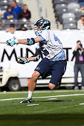 10 April 2010: North Carolina Tar Heels defenseman Charlie McComas (45) during a 7-5 loss to the Virginia Cavaliers at the New Meadowlands Stadium in the Meadowlands, NJ.