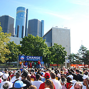 Barack Obama Photos: Rally, Hart Plaza - Detroit